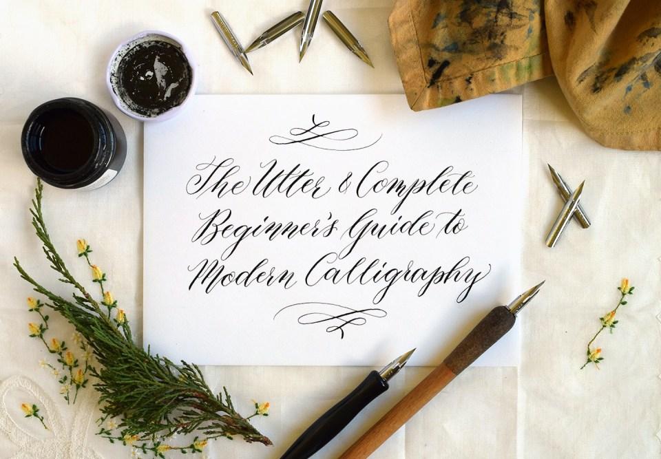 Гайд по современной каллиграфии для начинающих