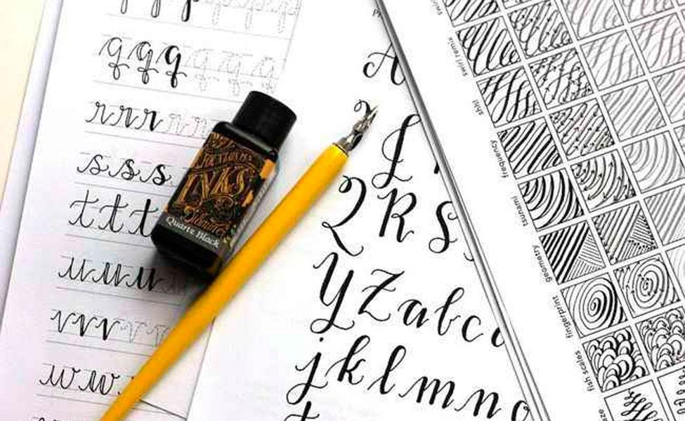 Акция: прописи для каллиграфии в подарок к планшету!