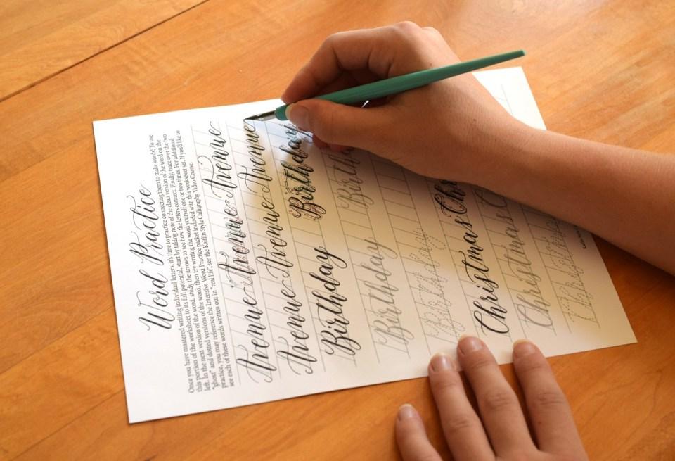Лучшее перо для начинающего каллиграфа