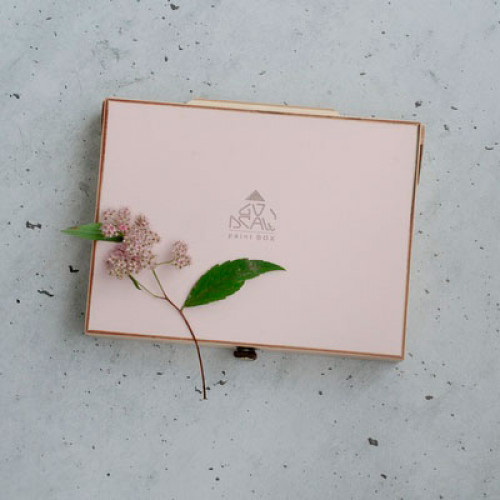 Мини-этюдник 20х15 см, розовый
