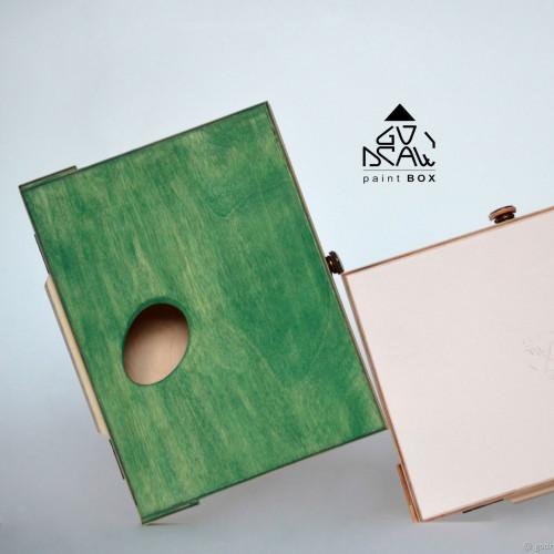 Мини-этюдник зеленый