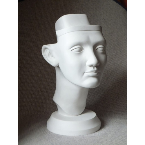 Голова Нефертити гипсовая