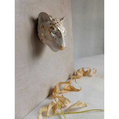 """Гипсовая скульптура """"Леопард"""""""