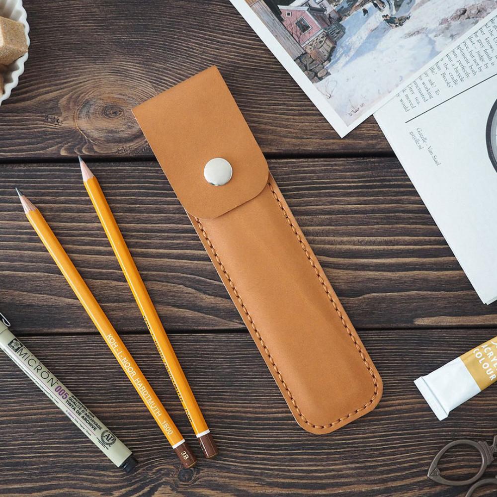 Чехол для ручки, коричневый
