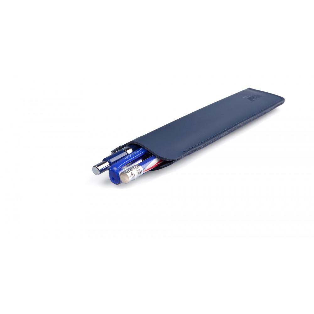 Пенал кожаный для ручек, Artskill синий