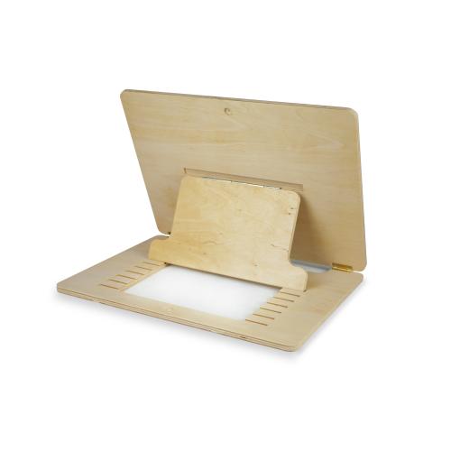Подставка для рисования S деревянная