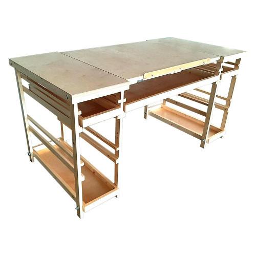 Стол для рисования с наклонной столешницей Родриго Лакированный