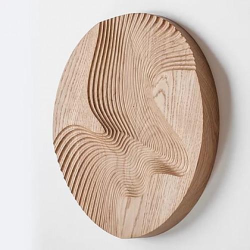 Декор из дерева Wave Wall 30