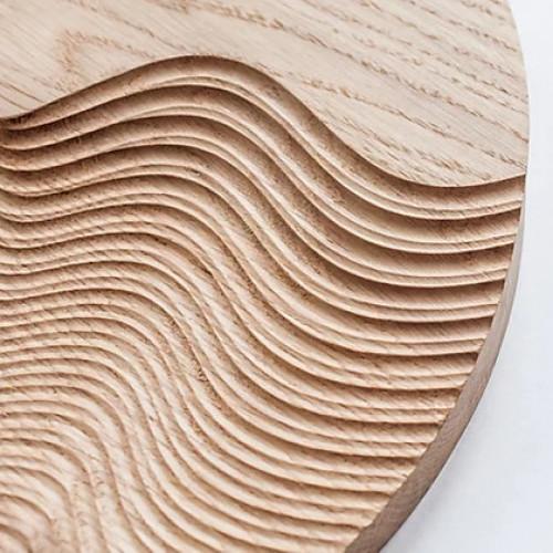 Декор из дерева Wave Wall 35